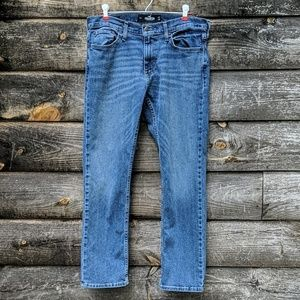 Hollister Slim Straight Epic Flex Blue Jeans